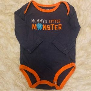 Perfect Halloween Mommy's Little Monster Onesie!